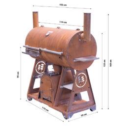 GrillSymbol BBQ-røykovn Smoky Beast XL