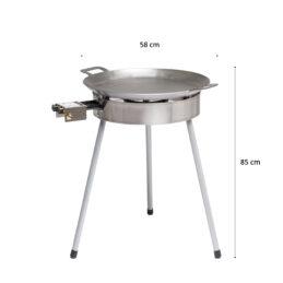 GrillSymbol Paella Stekehelle Sett Basic-580
