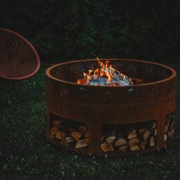 GrillSymbol utendørs ildsted Antigo ø 116 cm