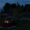 GrillSymbol Utepeis i cortenstål Luna
