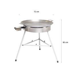 GrillSymbol Paella Stekehelle Sett Basic-720