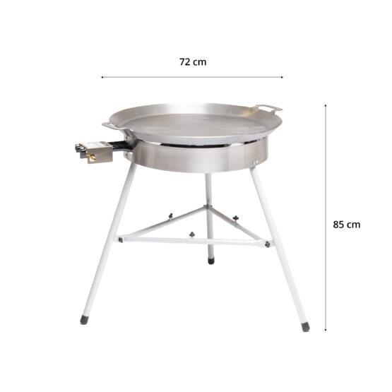 GrillSymbol stekehelle gass Basic-720