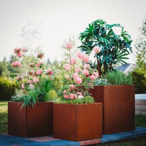Garden and Cor-Ten